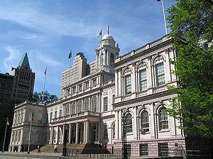New York City's City Hall  1811