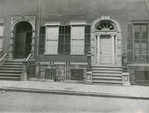 The Old Merchant's House here seen in the earliest known photograph, c 1890