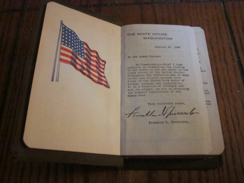 Presented to Michael Zeamer, December 19, 1943