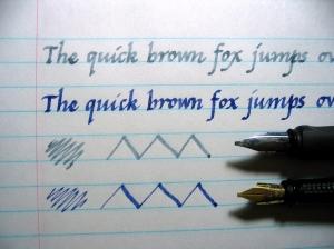 Italic cursive