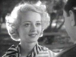 """Bette Davis in """"Cabin in the Cotton."""""""
