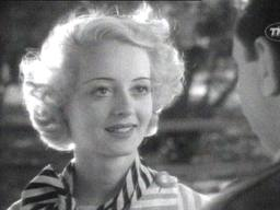"Bette Davis in ""Cabin in the Cotton."""