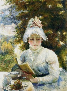 Marie Bracquemond (1840-1916). Afternoon Tea, 1880.