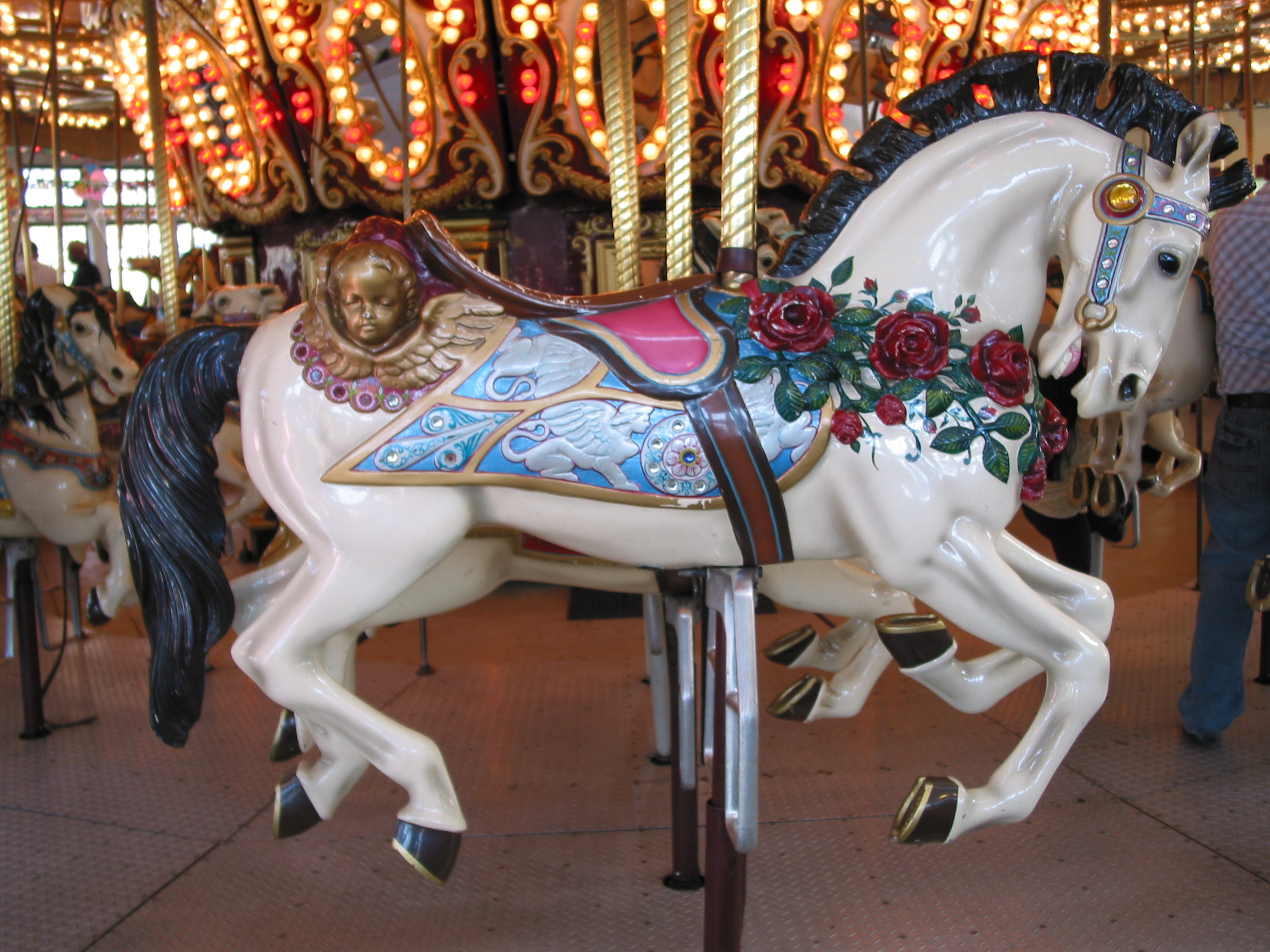 Who Doesn't Love a Carousel, aka Merry-Go-Round? | Hints ...
