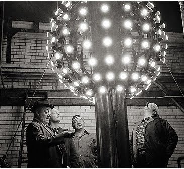 The 1955 Time Ball had 180 lights