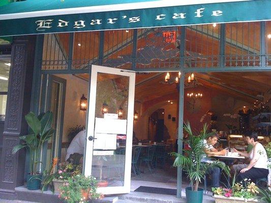Edgar's Cofee Shop at and Amsterdam