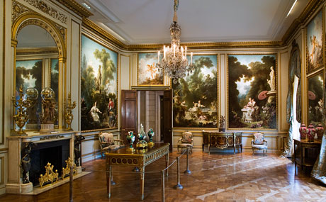 The Frick Museum Fragonard Room