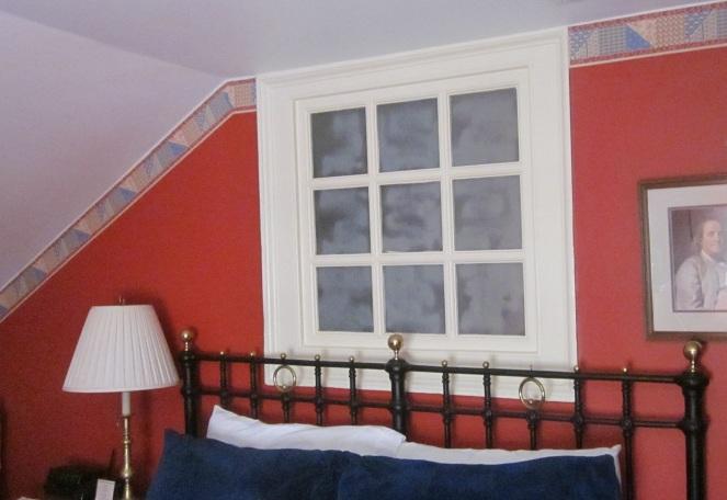 Borrowed Light Window in the Thomas Bond House, Philadelphia.