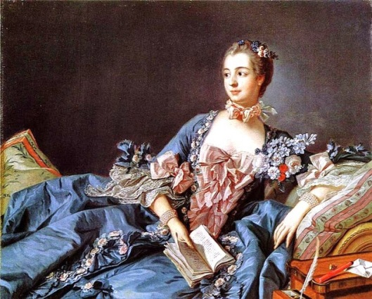 1 Fran_ois BoMadame Pompadourucher (French painter, 1703_1770) Madame du Pompadour