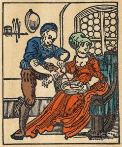Bloodletting in the 16th century