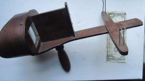 Antique stereopticon