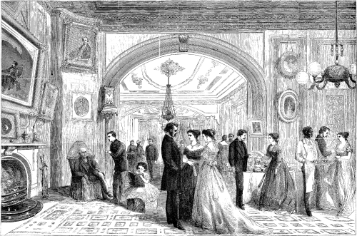 New Year's Day, New York City, 1868. Harper's Weekly, January 4, 1868