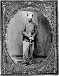 John Ward, Lieutenant, 12th Regiment,N.Y. State Troops, Washington, D.C., May 1861.