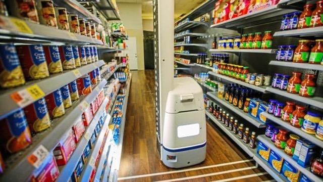 Walmart's robot