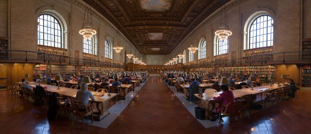 The Rose Main Reading Room, New York Public Library